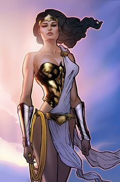 Wonder Woman. I like her costumes best when they appreciate her mythological background