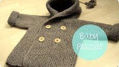 video explicativo de um casaco de tricot bem lindo para bebé