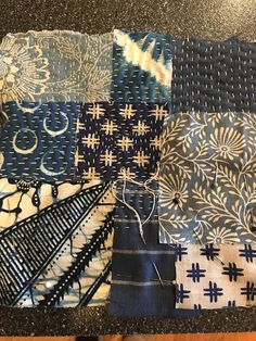 Humble Quilts: Easing into the Week Japanese Patchwork, Japanese Quilts, Shashiko Embroidery, Boro Stitching, Asian Quilts, Stitch Witchery, Fabric Journals, Kantha Stitch, Japanese Embroidery