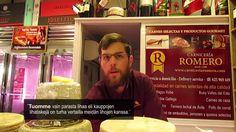 Kävimme Los Bolichesin kauppahallissa #Fuengirolassa. Siellä meidät otti vastaan vanhimman lihakaupan omistaja Salvador Romero ¨Salva¨. Hän kertoo meille #espanjalaisesta ruokakulttuurista...Saatat hyvinkin yllättyä. Toimittaja: Nina Celikel