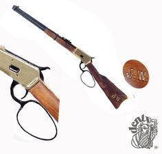 1892 Winchester Lever-Action Rifle Replica - Non Firing by Denix. $131.45. The 1892 Winchester rifle, descendant of the Henry and 1866 Yellow Boy rifles,was made from 1892 until 1941 and total production was in excess of one million pieces. Many variations and calibers were introduced over the course of the 50 years production, but the basic design was largely unaltered and the fact that many are still in use today as hunting rifles bears testimony to the reliabi...