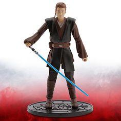 Figurine miniature de 16 cm d'Anakin Skywalker de la série Elite de Star Wars