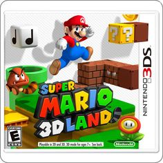 3DS Super Mario 3D Land R$129.90