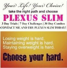 Choose your HARD... https://m.facebook.com/breeandsarah.plexusworks