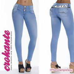Ya en tienda los nuevos modelos de #jeans #levantacola de CROKANTE colección completa en modacolombiana.mx o visítanos en nuestras 2 tiendas:  mayoreo plaza exhimoda y menudeo en gran plaza #SoySexInx #fashiongirl