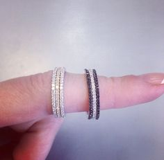 Micro Pave Bands from XIV Karats (Beverly Hills)
