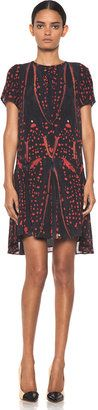 Proenza Schouler - Drop Waist Dress in Red Bug #15Things #fashion #style #trending #summer #bug #insect #dress #red #ProenzaSchouler #print