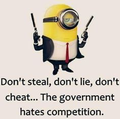 The government hated competition