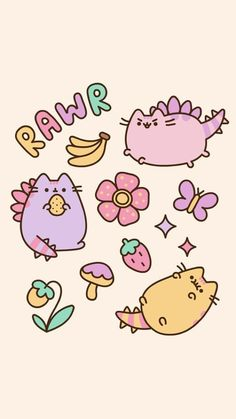 Pusheen ✼ Cat Best Ideas Cats Wallpaper Backgrounds Phone Wallpapers Vacuum Cleaners Ratings – W Dinosaur Wallpaper, Cat Wallpaper, Kawaii Wallpaper, Cute Wallpaper Backgrounds, Cellphone Wallpaper, Aesthetic Iphone Wallpaper, Phone Backgrounds, Phone Wallpapers, Galaxy Wallpaper