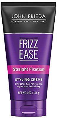 Amazon Com John Frieda Frizz Ease Straight Fixation Styling Creme 5 Ounces Hair Styling Creams Beauty Hair Cream John Frieda Hair Smoothing Cream