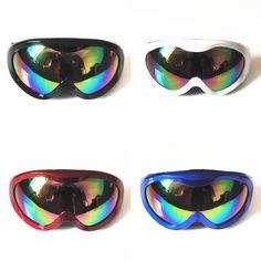 d1b9744d6b38 Winter Sports Snow Snowboard Snowmobile Skiing Goggles Anti-fog UV400  Windproof Dustproof Glasses Skate Ski Sunglasses Eyewear