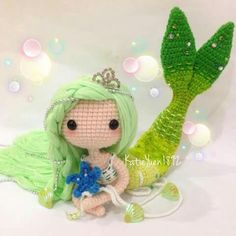 Beautiful mermaid doll                                                       …