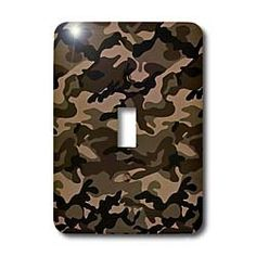 Lee Hiller Designs Camouflage - Brown Camouflage - Light Switch Covers - single toggle switch by Lee Hiller, http://www.amazon.com/dp/B004ZMCMDM/ref=cm_sw_r_pi_dp_QBsMrb0AD0B4F