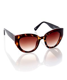 07d418c662e Tortoise Thick-Frame Sunglasses - Cole Haan Cool Glasses