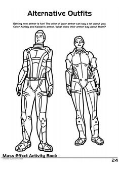 mass effect 3 coloring pages - photo#21