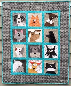 Cats N' Dogs Quilt                                                       …