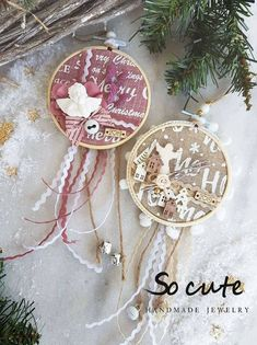 Noel Christmas, Christmas Is Coming, Christmas Images, Christmas Activities, Christmas Projects, Holiday Crafts, Diy Xmas Ornaments, Turquoise Christmas, Embroidery Hoop Crafts