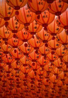 Red and orange / lanterns Shades Of Orange, Orange Is The New Black, Orange Aesthetic, Aesthetic, Orange Color, Color, Happy Colors, Lanterns, Orange Walls