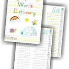 I made this booklet for my son, who is in first grade, as a way to record all the words he has been learning for his spelling tests. Every now and ...