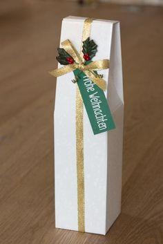 Geschenkschachtel für Wein- und Sektflaschen. 1,70 € Jetzt neu im Shop: www.der-schachtel-shop.de