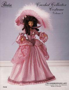 12. Barbie fashion doll dress, crochet pattern in pdf by Vandihand on Etsy