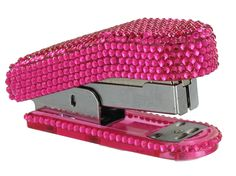 Hot Pink Bling Stapler  Hot Pink Bling Scissors  Available @ The Be'Lei Boutique  For more information and pricing, like us & comment on Facebook.