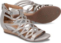 e68081188e Sofft Sofft Shoes, Gladiator Sandals, Leather Sandals, Metallic Leather,  Stitch Fix,