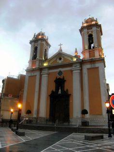 La catedral de Ceuta se encuentra situada en el espacio conocido desde época portuguesa como «La Ciudad», en un promontorio al sudeste de la zona interfosos y fue construida sobre una mezquita de la época de dominación árabe (711-1415). Durante el sitio de los 30 años fue hospital de sangre.