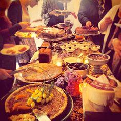 Cake buffet when visiting Camilla Plum