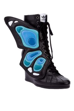 ... Scott Wings Wedge Sneaker - Outrageous Designer Celebrity Shoes - ELLE
