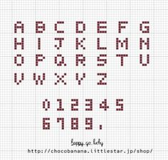 o0568054412709186335 Crochet Alphabet, Cross Stitch Alphabet Patterns, Cross Stitch Art, Cross Stitching, Cross Stitch Embroidery, Alphabet Words, Friendship Bracelet Patterns, Friendship Bracelets, Alpha Patterns