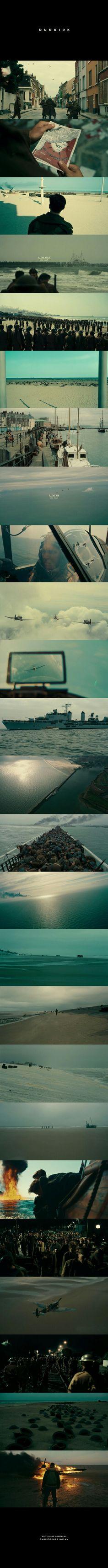Dunkirk (2017) Director: Christopher Nolan Cinematographer: Hoyte van Hoytema