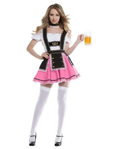 3ba0cd91be9 Fancy Beer Girl Adult Womens Costume Crazy Costumes