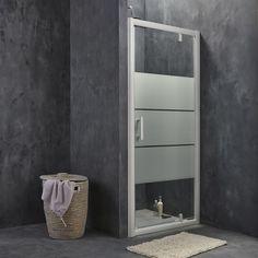 porte de douche coulissante sensea purity 3 verre. Black Bedroom Furniture Sets. Home Design Ideas