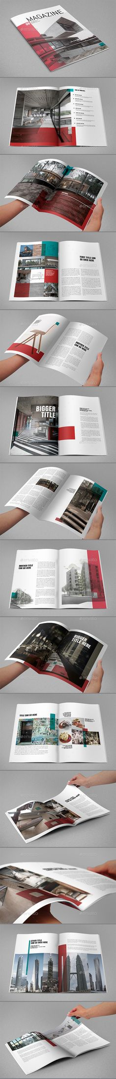 Cool Magazine Template InDesign INDD. Download here: https://graphicriver.net/item/cool-magazine/17544102?ref=ksioks