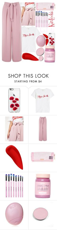 """""""R°2W"""" by karilooks ❤ liked on Polyvore featuring Marc Jacobs, Miss Selfridge, NARS Cosmetics, Spectrum Collections, Lime Crime, Eos and Chantecaille"""
