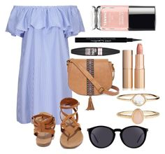 """""""#33"""" by mercedes93 on Polyvore featuring moda, Breckelle's, T-shirt & Jeans, Yves Saint Laurent, Accessorize, Maybelline i Givenchy"""
