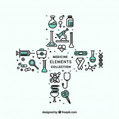 Fondo de elementos de medicina   Free Vector #Freepik #freevector #fondo #salud #botella #medicina Math Equations, Vector Freepik, Logos, Design, Medicine, Stage Set Design, Dental Floss, Hand Sanitizer, Icon Design