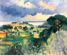 The Citadel at Saint-Tropez Henri Manguin - 1904