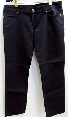 Delia's Taylor Jeans Pants Black New With Tag Size 15/16 Short #Delias #StraightLeg