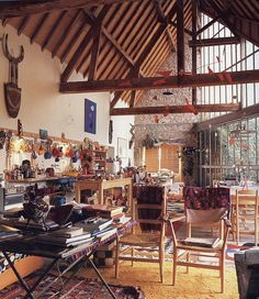 Alexander Calder's studio and home.