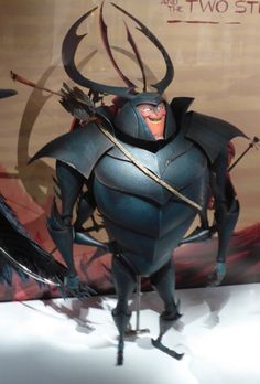 Kubo and the Two Strings Beetle puppet Character Base, Character Design, Laika Studios, Kubo And The Two Strings, Sketchbook Project, 3d Figures, Perfect World, 3d Animation, Stop Motion