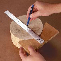 On The Mark Centerfinder/Trammel Woodworking Plan from WOOD Magazine