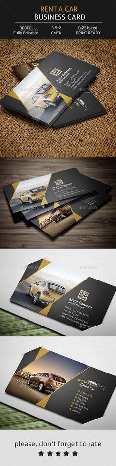 Modern photographer business card vol 58 pinterest rent a car business card corporate business card template psd download here http flashek Gallery