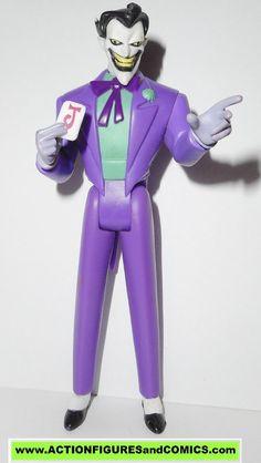 justice league unlimited JOKER original purple outfit black hair mattel toys action figures