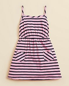Splendid Girls Miami Stripe Dress - Sizes 4-6X | Bloomingdales