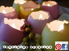candles eggs Easter Projects, Projects For Kids, Diy For Kids, Egg Candling, Craft Tutorials, Craft Ideas, Candels, Easter Holidays, Bottles And Jars