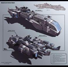 KaranaK – Diseños conceptuales de naves