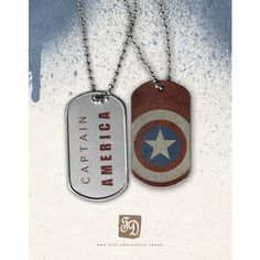 Pendant Captain America , the Avegers , dog tag (57 SEK) ❤ liked on Polyvore featuring jewelry, necklaces, avengers, accessories, pendant jewelry, dog tag pendant and dog tag jewelry