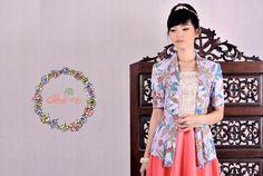 kebaya kutubaru batik | DhieVine | Redefine You Fashion Brand, Women's Fashion, Fashion Design, Batik Kebaya, Traditional Fabric, Ikat, Vintage Inspired, Lace Dress, My Style